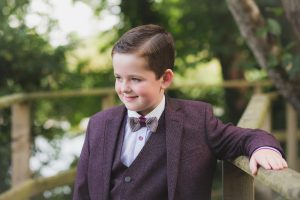 boy's first holy communion portrait kildare photographer